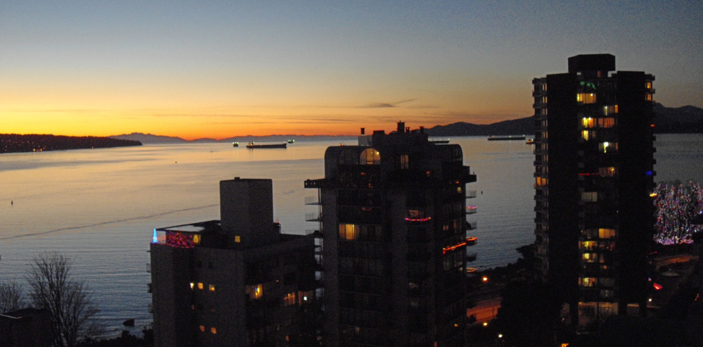My Stunning English Bay View.