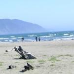 Crescent City beach scene