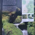 Trillium Falls trail marker